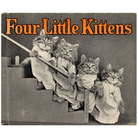 Four Little Kittens Book