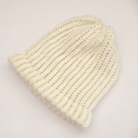 beanie, hats, knit beanie hats, knitted bulky hats, knitted chunky beanie, white toques, womens beanie hats, mens cream beanies, winter hats