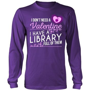 Librarian - Library Full of Valentines