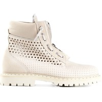 Balmain Perforated Boots - Julian Fashion - Farfetch.com