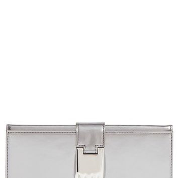 Opening Ceremony 'Misha' Metallic Leather Wallet | Nordstrom