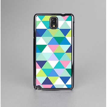 The Vibrant Fun Colored Triangular Pattern Skin-Sert Case for the Samsung Galaxy Note 3