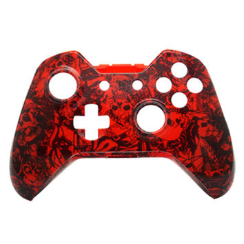 crazy red skull custom paint gamer shell Replacement Controller Shell Housing the Microsoft Xbox One Wireless Controller