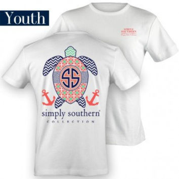 Youth Simply Southern Turtle T-Shirt