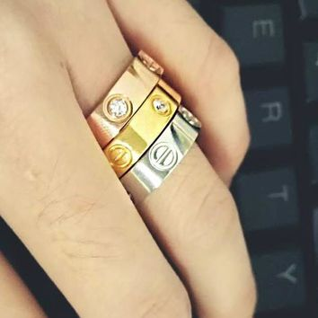 cute couple rings women ring cartier rhinestone ring on simplicity i