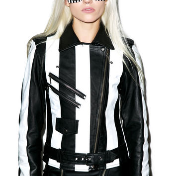 Kill Star Beetlejuice Jacket Black/White