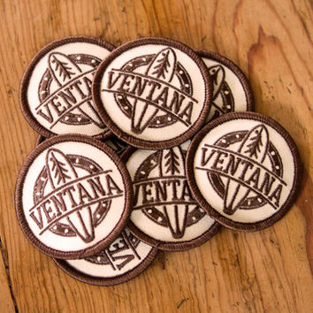 Ventana Sew-On Patches