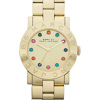 Marc by Marc Jacobs Watch, Women's Gold Ion-Plated Stainless Steel Bracelet 36mm MBM3141 - All Watches - Jewelry & Watches - Macy's