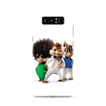 Alvin And The Chipmunks The Road Chip Movies 70s Samsung Galaxy Note 8 Case