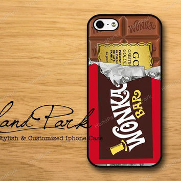 Golden Ticket Willy Wonka iPhone 5 Case iPhone Case by HandPark