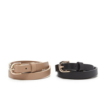 Skinny Faux Leather Belt | Forever 21 - 2000221799