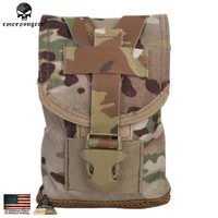 Emersongear MLCS Canteen Pouch With Protective Insert Airsoft Hunting Gear Molle Military Tactical Gear EM6039 Multicam AOR ATFG