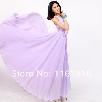 3dd1c126e78 Lavender dress Summer Sundress Holiday Beach Maxi Dress Party Gu