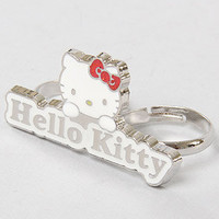 Accessories Boutique Ring Hello Kitty Double Finger