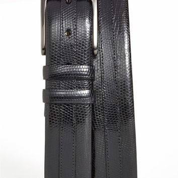 Men's Mezlan Iguana Belt