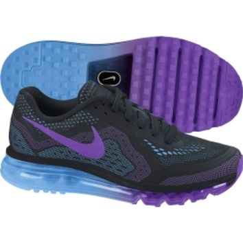 Nike Women's Air Max 2014 Running Shoe - Black/Blue/Purple | DICK'S Sporting Goods