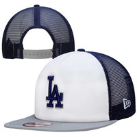 Los Angeles Dodgers New Era 9FIFTY Team Mesh Snap Back Hat - Royal Blue
