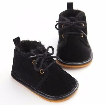 Baby Winter Shoes Plus Velvet Toddler Infant