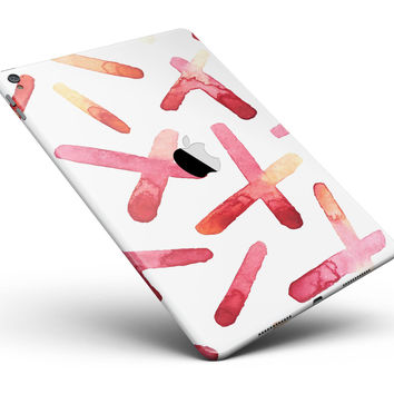 "Pink and Orange Microscopic Lens Full Body Skin for the iPad Pro (12.9"" or 9.7"" available)"