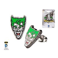 The Joker Face Stud Earrings