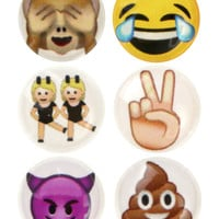 MORE EMOJI IPHONE SCREEN HOME BUTTON PACK