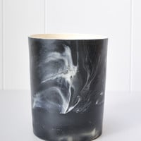 Marbled Pot - Black