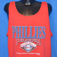 90s Philadelphia Phillies Tank Top t-shirt Large