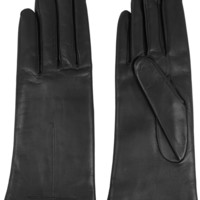 Givenchy - Short gloves in black leather