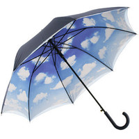 Brolliesgalore Double Canopy Clouds Umbrella by Pierre Vaux