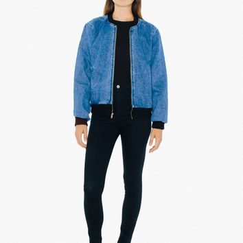 Denim Bomber Jacket | American Apparel