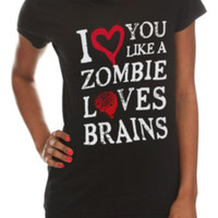 Like A Zombie Girls T-Shirt