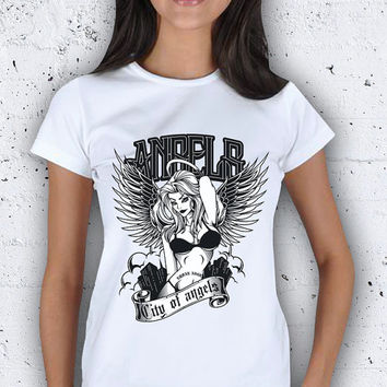 Angels Figure Women T-Shirt / Special Production (Limited Edition)