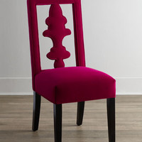 Haute House Fuchsia Tiara Chair