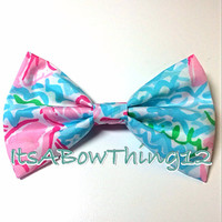 Lilly Pulitzer Lobstah Roll Printed Bow