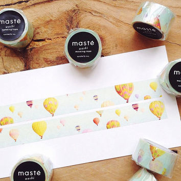 Balloon by maste masking washi tape mt