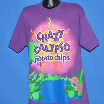 90s Crazy Calypso Potato Chips t-shirt Extra Large