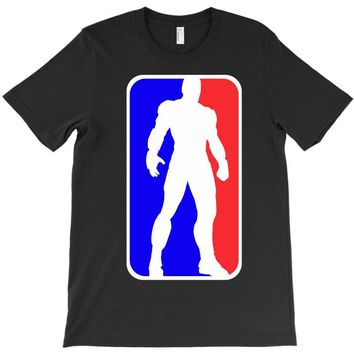 Iron Man NBA Style T-Shirt