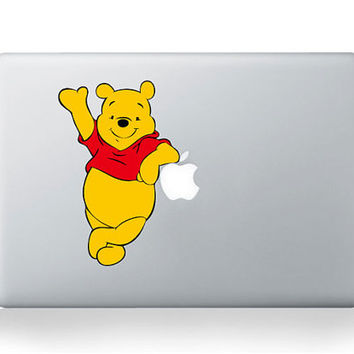 Winnie The Pooh -- Mac Decal Mac Sticker Macbook Decals Macbook Stickers Vinyl Decal for Apple Laptop Macbook Pro / Macbook Air / iPad