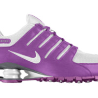 Nike Shox NZ iD Custom Men's Shoes - Purple