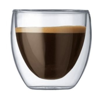Double Wall Thermal Coffee, Tea Drink Glass