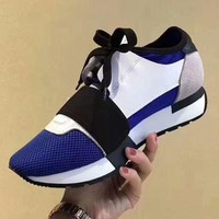 BALENCIAGA Tide brand color matching casual running tip breathable mesh