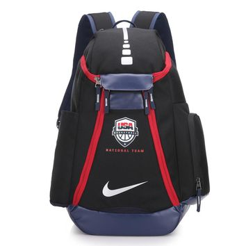 HCXX 262 Nike USA Olympic version of NBA star KD durant backpack 54-30-23cm Black Red