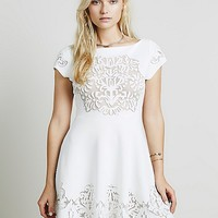 Free People Ornate Fit n Flare Dress at Free People Clothing Boutique