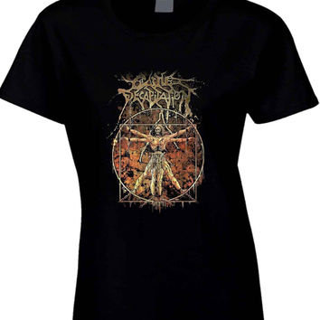Cattle Decapitation Art Cover  Womens T Shirt