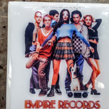 Single Tile Drink Coaster Empire Records Rex Manning Movie Coaster