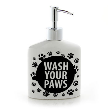 Wash Your Paws Soap Dispenser