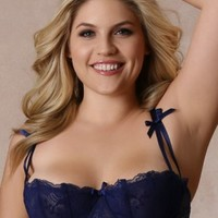 Plus Size Lingerie | Plus Size Bras | Isabella Shelf Bra | Hips & Curves