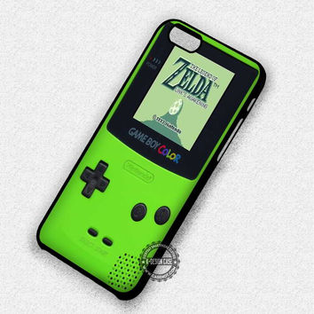 Green Gameboy - iPhone 7 6 Plus 5c 5s SE Cases & Covers