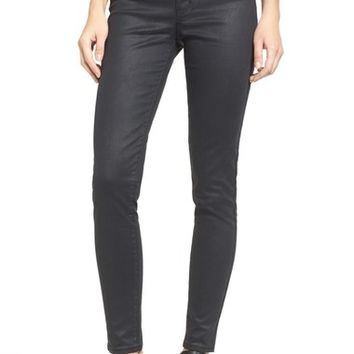 Levi's® 'Mile High' High Rise Super Skinny Jeans (Coated Onyx) | Nordstrom