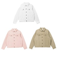 Men women jackets fear of god hip hop streetwear kanye west cotton solid autumn casual Military jacket clothes Winter Coat